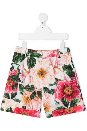 Dolce & Gabbana Pantalones cortos con estampado floral