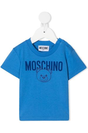 Moschino Teddy Bear-print cotton T-shirt