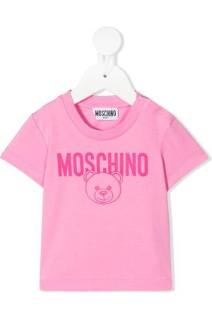 Moschino Logo-print short-sleeved T-shirt
