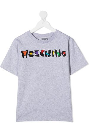 Moschino Playera con logo estampado