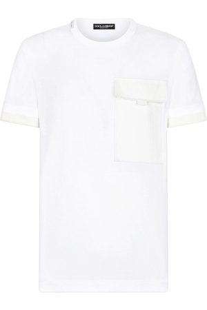 Dolce & Gabbana Playera con bolsillo y solapa