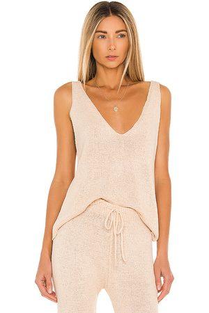 SNDYS Camiseta tirantes celeste en color nude talla L en - Nude. Talla L (también en M, S, XS).