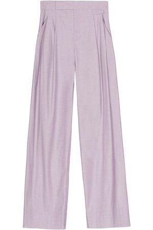 Equipment Mujer Anchos y de harem - Pantalones anchos con pinzas