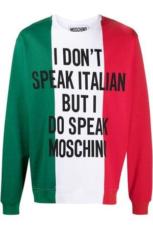 Moschino Sudadera con eslogan estampado