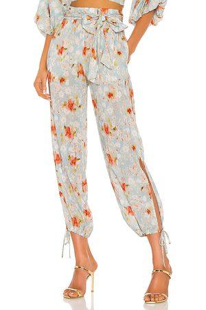 MISA Mujer De vestir - Pantalones elia en color azul talla L en - Blue. Talla L (también en M, S, XS).