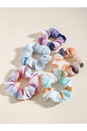 YOINS 1pc Tie Dye Pattern Scrunchie