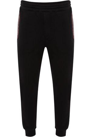 Alexander McQueen Pantalones Deportivos De Algodón