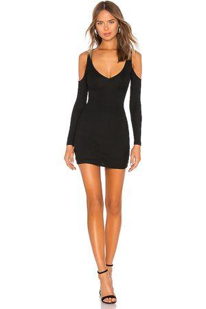 Lovers + Friends Flint mini dress en color talla L en - Black. Talla L (también en S, XS, M).