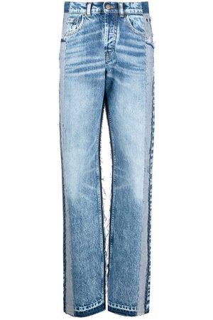 Maison Margiela Jeans de tiro alto con paneles