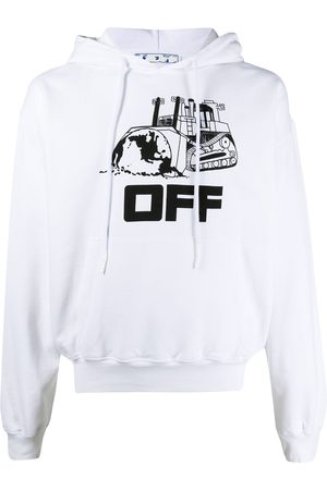 OFF-WHITE Sudadera con capucha World Caterpillar