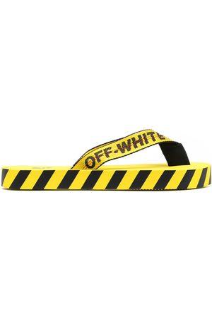 OFF-WHITE Hombre Flip flops - Flip flops con tiras del logo