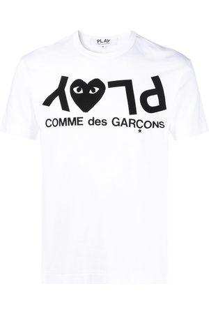 Comme des Garçons Playera con logo estampado