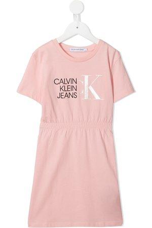 Calvin Klein Niña Vestidos - Vestido con pretina elástica