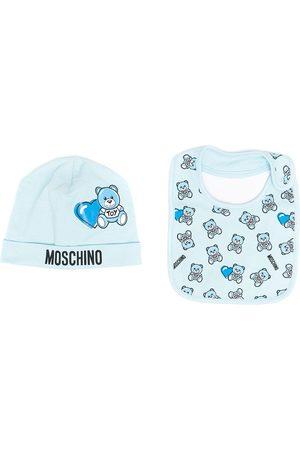 Moschino Gorro con motivo Teddy Bear