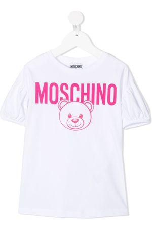 Moschino Niña Playeras - Playera con motivo Teddy Bear