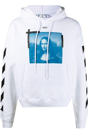 OFF-WHITE Graphic-print drawstring hoodie
