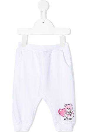 Moschino Pantalones de chándal con motivo Teddy Bear