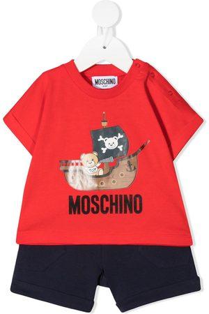 Moschino Set de pantalones cortos con motivo Teddy Bear