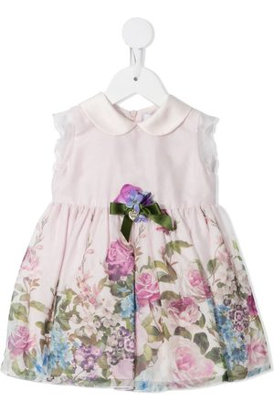 Lesy Floral-print collared dress