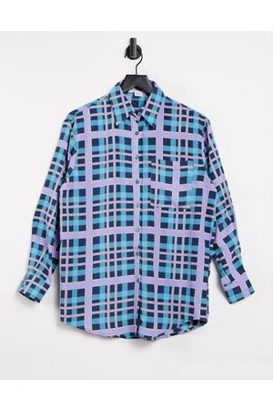 Glamorous Relaxed shirt in check co