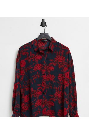 In The Style Exclusive shirt in multi floral print