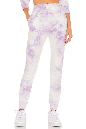 Frankies Bikinis Pantalón deportivo aiden en color lavanda talla L en - Lavender. Talla L (también en M, S, XS).
