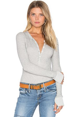 Michael Lauren Camiseta henley vance en color gris talla L en - Grey. Talla L (también en S, XS).