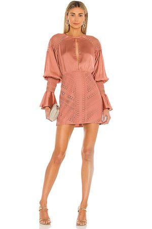 Michael Costello Vestido shandy en color talla L en - Blush. Talla L (también en M, S, XL, XS, XXS).