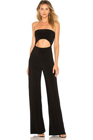 Norma Kamali Strapless cut out jumpsuit en color talla L en - Black. Talla L (también en M, S, XS, XXS).
