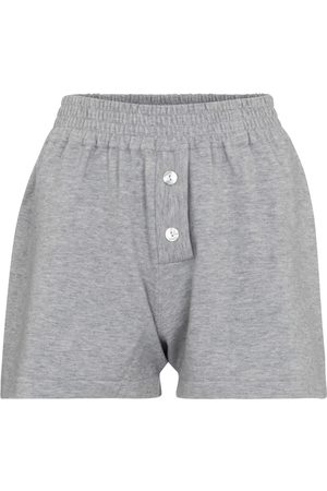 LIVE THE PROCESS Mujer Shorts - Cashmere-blend shorts