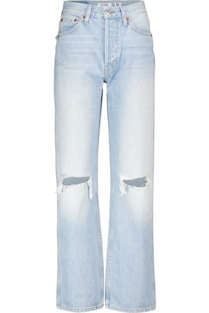 RE/DONE Mujer Rectos - Loose high-rise straight jeans