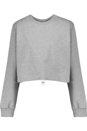 Frankie Shop Mujer Sudaderas - Cropped cotton sweatshirt