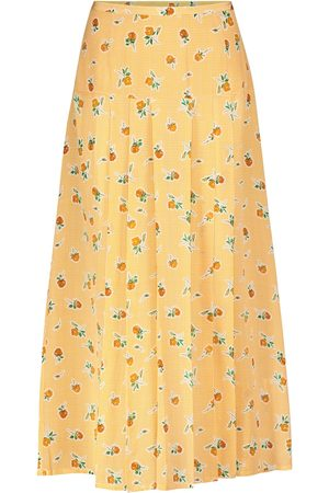 RIXO London Mujer Estampadas - Nancy floral silk crêpe midi skirt