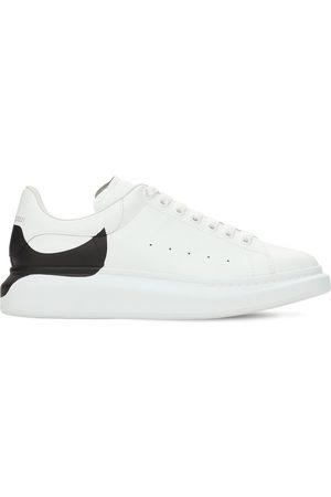 Alexander McQueen Sneakers De Piel Con Plataforma 45mm