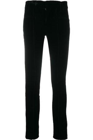 Haider Ackermann Mujer Slim y skinny - Pantalones con paneles en contraste