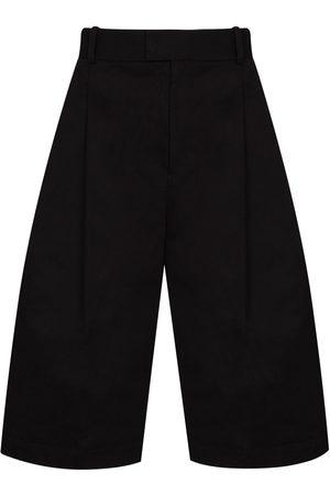 Bottega Veneta Shorts de vestir anchos