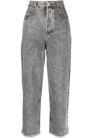 Isabel Marant Mujer Jeans - Jeans capri anchos