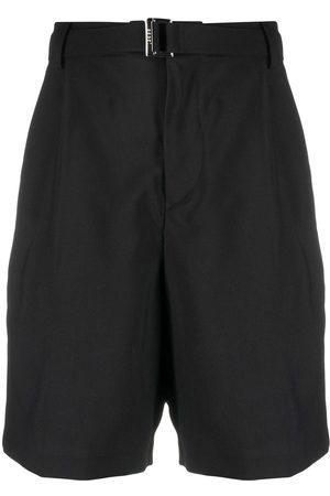 SACAI Hombre Shorts - Shorts de vestir con cinturón
