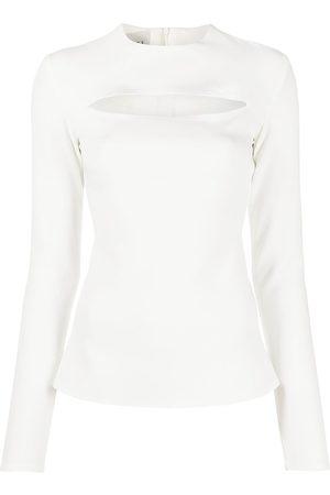A.W.A.K.E. MODE Mujer Blusas - Blusa con detalle de abertura