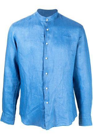 PENINSULA SWIMWEAR Hombre Camisas - Camisa con efecto arrugado