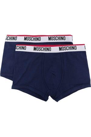 Moschino Hombre Boxers y trusas - Bóxer con logo en la pretina