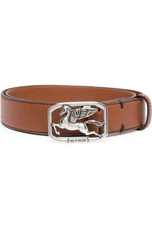 Etro Hombre Cinturones - Cinturón con hebilla Pegasus