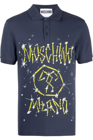 Moschino Playera tipo polo Couture