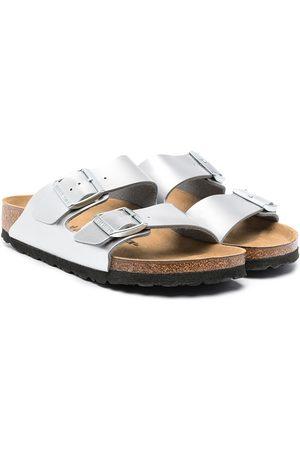 Birkenstock Flip flops - Chanclas metalizadas
