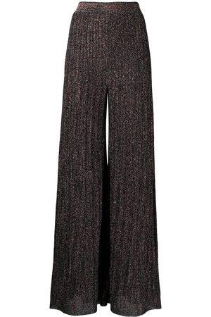 M Missoni Mujer Acampanados - Pantalones tejidos de lúrex