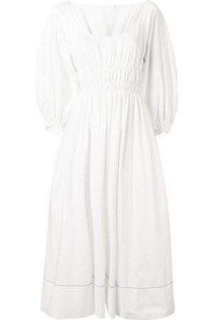 PROENZA SCHOULER WHITE LABEL Mujer Vestidos - Vestido con cintura fruncida