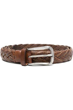 Brunello Cucinelli Woven leather belt