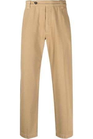 Kenzo Hombre Pantalones y Leggings - Pantalones rectos con logo bordado