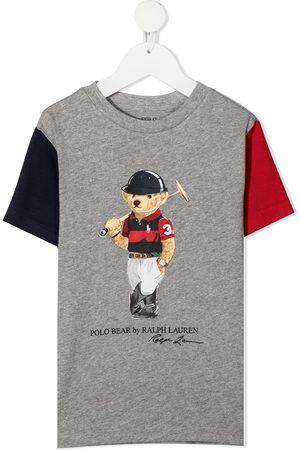 Ralph Lauren Niña Polos - Camiseta Polo Bear con diseño colour block