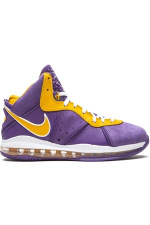 Nike Hombre Tenis - Zapatillas Lebron 8 Lakers